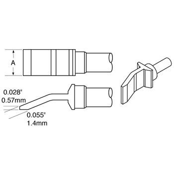 TxP系列镊型烙铁头